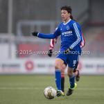 13-02-2016: Voetbal: Almere City FC O19 - Alphense Boys O19 2-0: Almere Anass Ahannach (Almere City FC A1)