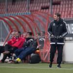 13-02-2016: Voetbal: Almere City FC O19 - Alphense Boys O19 2-0: Almere Michel Kreek / Coach (Almere City FC A1)