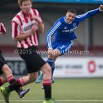 13-02-2016: Voetbal: Almere City FC O19 - Alphense Boys O19 2-0: Almere Emre Bal (Almere City FC A1)