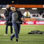 19-02-2016: Voetbal: Almere City v FC Volendam: Almere Deelnemers Latje tik Jupiler League 2015 / 2016