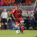 19-02-2016: Voetbal: Almere City v FC Volendam: Almere Pablo Rosario (Almere City FC) Jupiler League 2015 / 2016