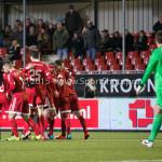 19-02-2016: Voetbal: Almere City v FC Volendam: Almere Jupiler League 2015 / 2016