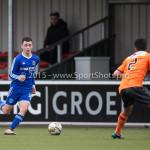 20-02-2016: Voetbal: Almere City O16 v FC Volendam O16: Almere Calvin  Merks (Almere City FC O16)