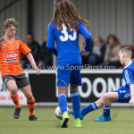 20-02-2016: Voetbal: Almere City O16 v FC Volendam O16: Almere Nico Kroonenberg (Almere City FC O16)