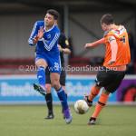 20-02-2016: Voetbal: Almere City O16 v FC Volendam O16: Almere Douglas Nacimento  Lima (Almere City FC O16)