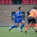 20-02-2016: Voetbal: Almere City O16 v FC Volendam O16: Almere Nordin Musampa (Almere City FC O16)
