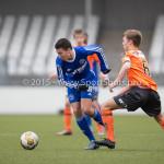 20-02-2016: Voetbal: Almere City O16 v FC Volendam O16: Almere Tarik  Zaanani (Almere City FC O16)