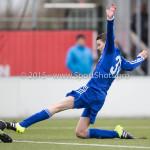 20-02-2016: Voetbal: Almere City O16 v FC Volendam O16: Almere Stefan Koelewijn (Almere City FC O16)