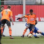 20-02-2016: Voetbal: Almere City O16 v FC Volendam O16: Almere Wesley Mink (Almere City FC O16)