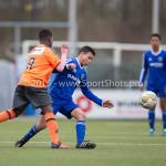 20-02-2016: Voetbal: Almere City O16 v FC Volendam O16: Almere Kamil  Boussatta (Almere City FC O16)