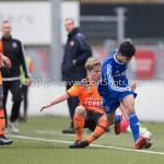 20-02-2016: Voetbal: Almere City O16 v FC Volendam O16: Almere Akram Adahchour (Almere City FC O16)