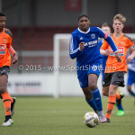 20-02-2016: Voetbal: Almere City O16 v FC Volendam O16: Almere Litciano Fernandes (Almere City FC O16)