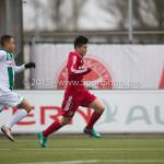 20-02-2016: Voetbal: Almere City B1 v FC Groningen B1: Almere Ricky Hisamatsu (Almere City FC B1)