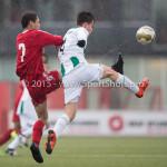 20-02-2016: Voetbal: Almere City B1 v FC Groningen B1: Almere Zaphinio van Liempt (Almere City FC B1)