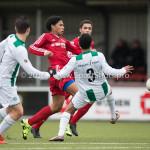 20-02-2016: Voetbal: Almere City B1 v FC Groningen B1: Almere Joshua Lo-Asioe (Almere City FC B1)