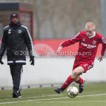 20-02-2016: Voetbal: Almere City B1 v FC Groningen B1: Almere Luuk Oosterling (Almere City FC B1)