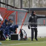 20-02-2016: Voetbal: Almere City B1 v FC Groningen B1: Almere Kiki Musampa (Almere City FC B1)