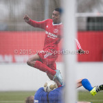 20-02-2016: Voetbal: Almere City B1 v FC Groningen B1: Almere Miquel Ramdas (Almere City FC B1)