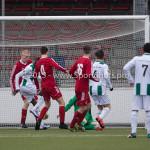 20-02-2016: Voetbal: Almere City B1 v FC Groningen B1: Almere Gijs van Zetten (Almere City FC B1)