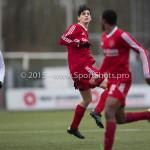 20-02-2016: Voetbal: Almere City B1 v FC Groningen B1: Almere Stijn  Kelder (Almere City FC B1)