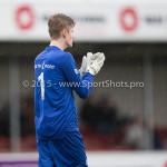 20-02-2016: Voetbal: Almere City B1 v FC Groningen B1: Almere Mats Roorda (FC Groningen)