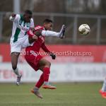 20-02-2016: Voetbal: Almere City B1 v FC Groningen B1: Almere Dario Fernandes (Almere City FC B1)