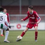 20-02-2016: Voetbal: Almere City B1 v FC Groningen B1: Almere Timo van Roemburg (Almere City FC B1)