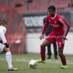 20-02-2016: Voetbal: Almere City B1 v FC Groningen B1: Almere Lancine Bamba (Almere City FC B1)