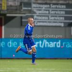 26-02-2016: Voetbal: FC Emmen v Almere City FC: Emmen Ricardo Kip (Almere City FC) Jupiler League 2015 / 2016