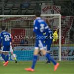 26-02-2016: Voetbal: FC Emmen v Almere City FC: Emmen Agil Etemadi (Almere City FC) Jupiler League 2015 / 2016