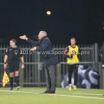 26-02-2016: Voetbal: FC Emmen v Almere City FC: Emmen (L-R) Jack de Gier - Hoofdtrainer (Almere City FC), Marco Heering - Assistent trainer (Almere City FC) Jupiler League 2015 / 2016