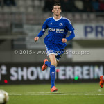 26-02-2016: Voetbal: FC Emmen v Almere City FC: Emmen Pelle van Amersfoort (Almere City FC) Jupiler League 2015 / 2016