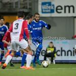 26-02-2016: Voetbal: FC Emmen v Almere City FC: Emmen Soufyan Ahannach (Almere City FC) Jupiler League 2015 / 2016