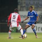 26-02-2016: Voetbal: FC Emmen v Almere City FC: Emmen Pablo Rosario (Almere City FC) Jupiler League 2015 / 2016