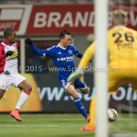 26-02-2016: Voetbal: FC Emmen v Almere City FC: Emmen Gaston Salasiwa (Almere City FC) Jupiler League 2015 / 2016