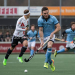 06-03-2016: Hockey: Amsterdam v HGC: Amsterdam Phil Burrows (HGC) Hoofdklasse Heren 2015 / 2016