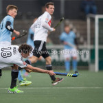 06-03-2016: Hockey: Amsterdam v HGC: Amsterdam Johannes Mooij (Amsterdam) Hoofdklasse Heren 2015 / 2016