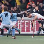06-03-2016: Hockey: Amsterdam v HGC: Amsterdam Teun Rohof (Amsterdam) Hoofdklasse Heren 2015 / 2016