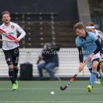 06-03-2016: Hockey: Amsterdam v HGC: Amsterdam Jorrit Croon (HGC) Hoofdklasse Heren 2015 / 2016