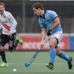 06-03-2016: Hockey: Amsterdam v HGC: Amsterdam Tristan Algera (HGC) Hoofdklasse Heren 2015 / 2016