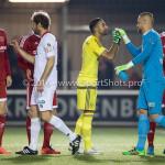 14-03-2016: Voetbal: Almere City FC v Sparta Rotterdam: Almere (L-R) Agil Etemadi (Almere City FC), Roy Kortsmit (Sparta Rotterdam) Jupiler League 2015 / 2016