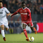 14-03-2016: Voetbal: Almere City FC v Sparta Rotterdam: Almere (L-R) Ryan Sanusi (Sparta Rotterdam), Enzio Boldewijn (Almere City  Jupiler League 2015 / 2016