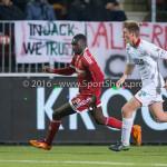 14-03-2016: Voetbal: Almere City FC v Sparta Rotterdam: Almere (L-R) Enzio Boldewijn (Almere City FC), Rick Ketting (Sparta Rotterdam) Jupiler League 2015 / 2016