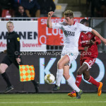 14-03-2016: Voetbal: Almere City FC v Sparta Rotterdam: Almere (L-R) Rick Ketting (Sparta Rotterdam), Enzio Boldewijn (Almere City FC) Jupiler League 2015 / 2016