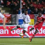 14-03-2016: Voetbal: Almere City FC v Sparta Rotterdam: Almere (L-R) Sherel Floranus (Sparta Rotterdam), Enzio Boldewijn (Almere City FC) Jupiler League 2015 / 2016