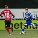 18-03-2016: Voetbal: Helmond Sport v Almere City FC: Helmond Lars Nieuwpoort (Almere City FC) Jupiler League 2015 / 2016