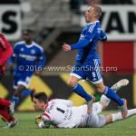 18-03-2016: Voetbal: Helmond Sport v Almere City FC: Helmond (L-R) Wouter van der Steen (Helmond Sport), Ricardo Kip (Almere City FC) Jupiler League 2015 / 2016