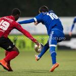 20160318-202558-XR254952a18-03-2016: Voetbal: Helmond Sport v Almere City FC: Helmond (L-R) Maiky Fecunda (Helmond Sport), Soufyan Ahannach (Almere City FC) Jupiler League 2015 / 2016