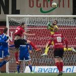 18-03-2016: Voetbal: Helmond Sport v Almere City FC: Helmond (L-R) Steven Edwards (Helmond Sport), Agil Etemadi (Almere City FC) Jupiler League 2015 / 2016
