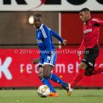 18-03-2016: Voetbal: Helmond Sport v Almere City FC: Helmond (L-R) Enzio Boldewijn (Almere City FC), Gillian Justiana (Helmond Sport) Jupiler League 2015 / 2016